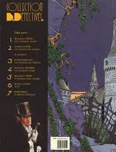Verso de Arsène Lupin (Duchâteau, CLE) -1- Le bouchon de cristal