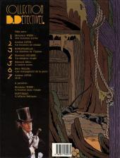 Verso de Arsène Lupin (Duchâteau, CLE) -2- 813 - La double vie