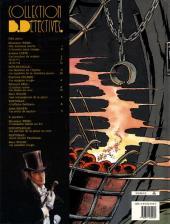 Verso de Arsène Lupin (Duchâteau, CLE) -3- 813 - Les trois crimes