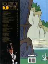 Verso de Arsène Lupin (Duchâteau, CLE) -4- La demoiselle aux yeux verts