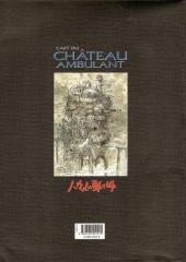 Verso de Le château ambulant -HS- L'Art du Château ambulant