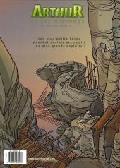 Verso de Arthur et les Minimoys -3- Tome 3