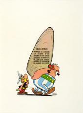 Verso de Astérix -8- Astérix chez les Bretons