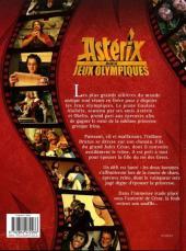 Verso de Astérix (Hors Série) -C07- Astérix aux jeux olympiques - l'album du film