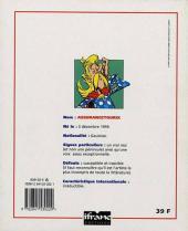 Verso de Astérix (livres-jeux) -34- Assurancetourix
