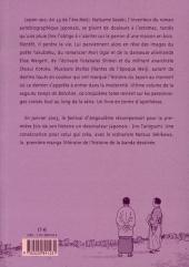 Verso de Au temps de Botchan -5- Volume 5 - La mauvaise humeur de Soseki