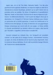 Verso de Au temps de Botchan -1- Volume 1