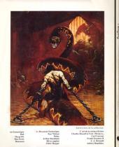 Verso de (AUT) Frazetta -1- L'art fantastique de Frank Frazetta