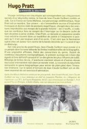 Verso de (AUT) Pratt, Hugo -17- La traversée du labyrinthe