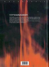 Verso de Les aventuriers du NHL2987 Survivaure -1- Le Cycle des Krygonites C.1