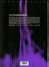 Verso de Les aventuriers du NHL2987 Survivaure -2- Le cycle des Krygonites C.2