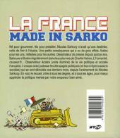 Verso de Les inébranlables de Babouse -1- La France made in Sarko