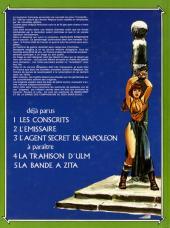 Verso de Bakelandt -3- L'agent secret de Napoléon