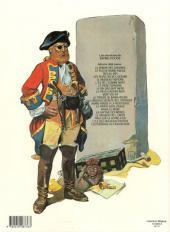 Verso de Barbe-Rouge -21- Les disparus du Faucon Noir