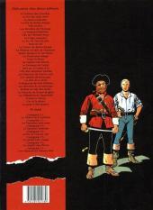 Verso de Barbe-Rouge -31- La guerre des pirates