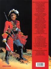 Verso de Barbe-Rouge -34- Le secret d'Elisa Davis - 1re partie