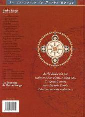 Verso de Barbe-Rouge (La Jeunesse de) -1- Les Frères de la Côte