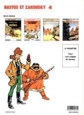 Verso de Bastos et Zakousky -4- La piste des Jigans