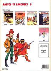 Verso de Bastos et Zakousky -5- Pour une chapka de larmes