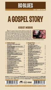Verso de BD Blues -2- A Gospel Story