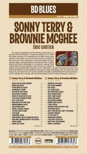 Verso de BD Blues -1- Sonny Terry & Brownie McGhee