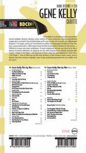 Verso de BD Ciné -5- Gene Kelly