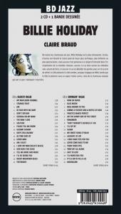 Verso de BD Jazz - Billie Holiday