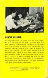 Verso de Benoît Brisefer -1GP- Les taxis rouges