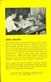 Verso de Benoît Brisefer -2GP- Madame Adolphine