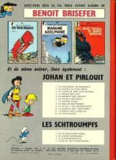 Verso de Benoît Brisefer -4- Tonton Placide