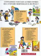 Verso de Benoît Brisefer -7Ind2001- Le Fétiche