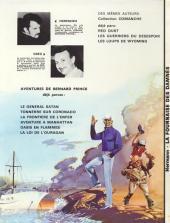 Verso de Bernard Prince -7'- La fournaise des damnés