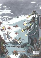 Verso de Une aventure de Machin -1- la bête qui mangeait tout le monde