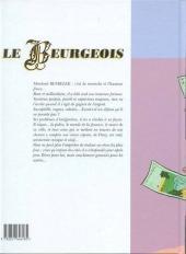Verso de Le beurgeois