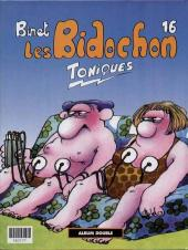 Verso de Les bidochon (France Loisirs - Album Double) -8- Bidochon mère (môman) / Toniques