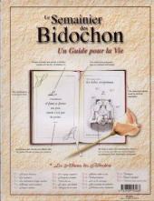 Verso de Les bidochon -HS03- Pensées de chevet