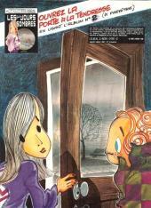 Verso de Bidouille et Violette -1- Les premiers mots
