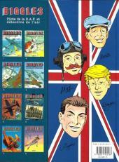 Verso de Biggles -7- Le dernier Zeppelin
