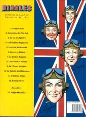 Verso de Biggles -4- Roland Garros