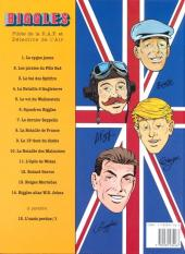 Verso de Biggles -14- Alias W. E. Johns - L'Album du centenaire