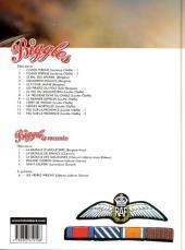 Verso de Biggles -20- Feu sur la Provence 2