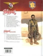 Verso de Biggles raconte -7- La légende du Général Leclerc