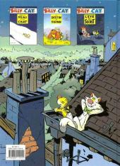 Verso de Billy the Cat -3- L'été du secret