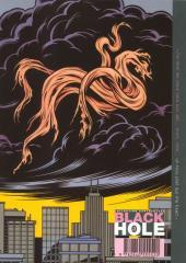 Verso de Black hole -3- Visions