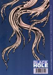 Verso de Black hole -6- Bleu profond