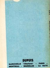 Verso de Les blaireaux -1MR1341- Les blaireaux sont fatigués