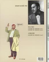 Verso de Blake et Mortimer -2- Le Secret de l'Espadon T2
