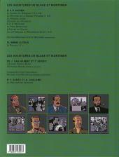 Verso de Blake et Mortimer (Les Aventures de) -14a00- La machination Voronov
