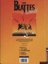 Verso de Les blattes -2- Backstage