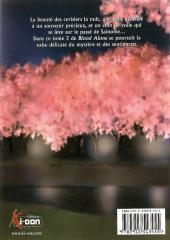 Verso de Blood alone -3- Volume 3
